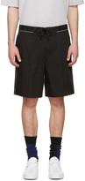 Lanvin Black Tie-up Shorts
