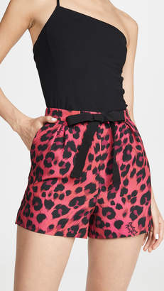 Moschino Leopard Shorts
