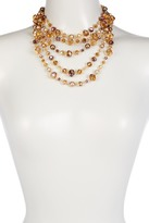 Carolee 5 Row Beaded Necklace