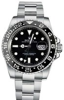 Rolex Gmt Master II Dial Stainless Steel Men's Watch 116710
