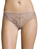 Free People Hold the Line Lace Panties