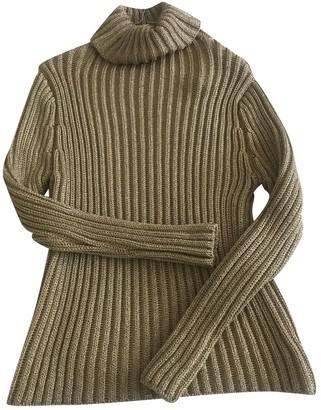 Prada Gold Synthetic Knitwear