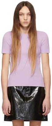 Helmut Lang Pink Angel Short Sleeve Sweater