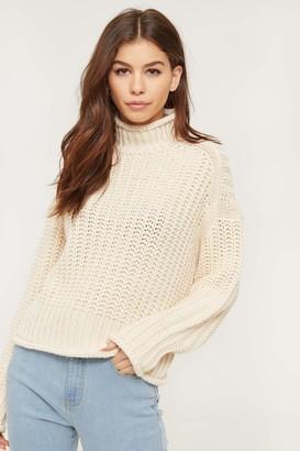 Ardene Chunky Knit Mock Neck Sweater