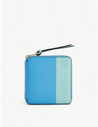 Loewe Colour-block leather wallet