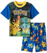 Boys 6-12 Pokemon 2-Piece Pajama Set
