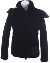 Closed Black Cotton Jacket for Women