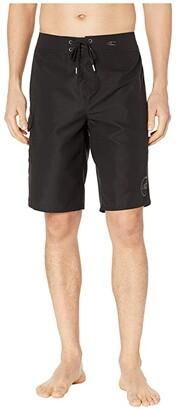 O'Neill Santa Cruz Solid 2.0 Boardshorts (Fog) Men's Swimwear