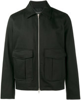 Rag & Bone Eddie jacket - men - Cotton/Calf Leather/Nylon/Polyester - L