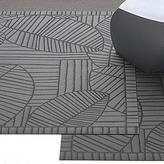 Chilewich - leaf patterned vinyl rugs by chilewich CLEARANCE