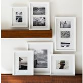 Pottery Barn Wood Gallery Frame In A Box Set - White