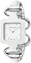 Gucci 1921 Series Women's 26mm Leather Stainless Steel Case Watch YA130404