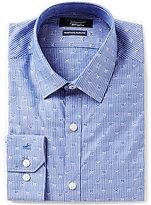Original Penguin Heritage Slim-Fit Point-Collar Striped Novelty-Printed Dress Shirt