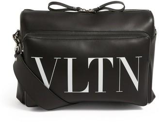 Valentino Garavani Leather Vltn Shoulder Bag