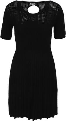 Kenzo Openwork Knit Dress