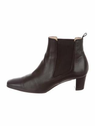 Christian Louboutin Tam tam 45 Leather Chelsea Boots Black