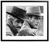 Sonic Editions Butch Cassidy and the Sundance Kid (Framed)