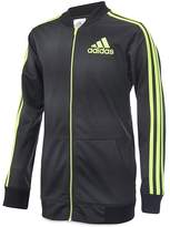 adidas Boys' Striped Printed Track Jacket - Little Kid
