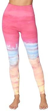 Spiritual Gangster Self Love Tie Dyed Leggings