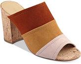 Marc Fisher Prenna Block-Heel Slides Women's Shoes