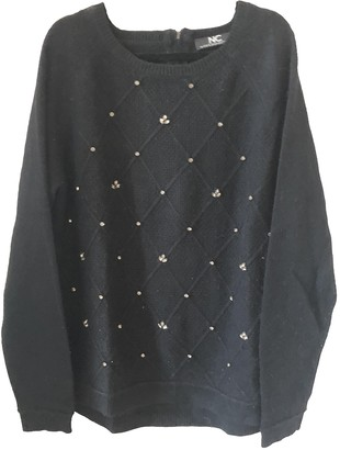 Nice Connection Black Cashmere Knitwear for Women