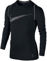 Nike Boys' Pro Hyperwarm Long Sleeve Shirt