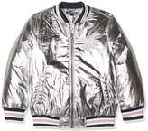 Tommy Hilfiger Girl's Thkg Shine Jacket,(Manufacturer Size: 5)
