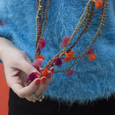 Bohemia Kriti Beaded Necklace With Tassels