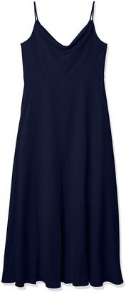Jenny Yoo Women's Colby Cowl Neckline A-line Chiffon Dress