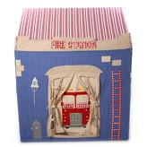 The Well Appointed House BARGAIN BASEMENT ITEM: Small Fire Station Playhouse - ONLY 1 AVAILABLE AT THIS PRICE!