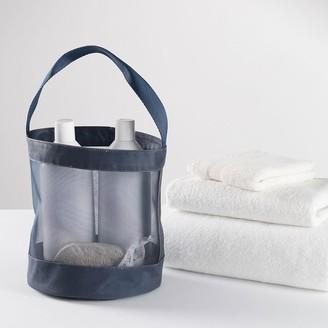 Pottery Barn Teen Navy Mesh Shower Caddy Bath Bundle