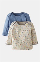Mini Boden Pointelle Shirt (2-Pack) (Baby)