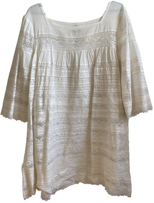 Laurence Dolige White Cotton Dress for Women