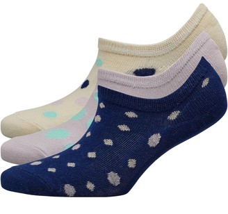 Fruit Cake Fruitcake Womens Invisible Trainer Liners Multi