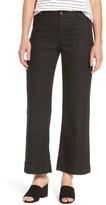 Eileen Fisher Women's Wide Leg Denim Trousers