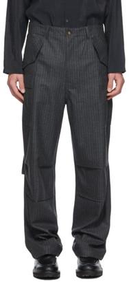 Winnie New York Grey Combat Cargo Pants