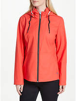 Gerry Weber Hooded Rubberised Jacket, Red