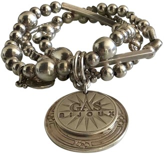 Gas Jeans Silver Metal Bracelets