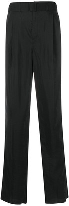 Lemaire High Waisted Pleated Pants
