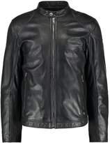 Strellson Sloan Leather Jacket Schwarz