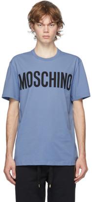 Moschino Blue Logo T-Shirt