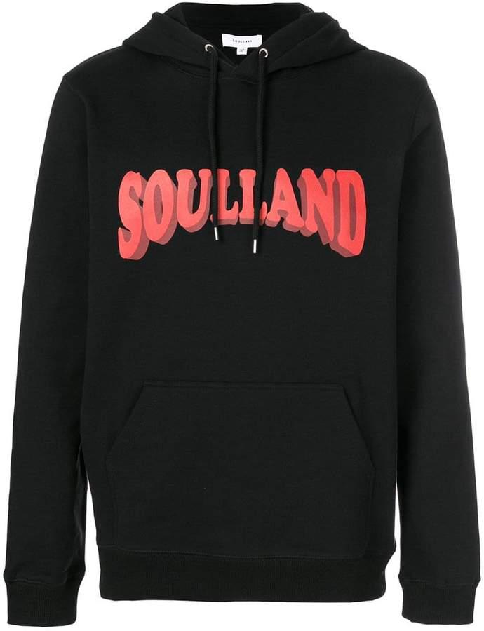 Soulland スローガン パーカー