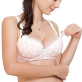 Aivtalk Cotton Maternity Bras Women Pregnant Nursing Underwire Padded Underwear Size 75B