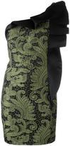 Christian Pellizzari one shoulder dress