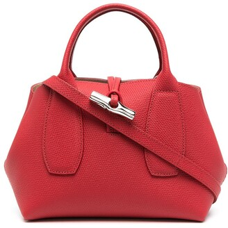 Longchamp small Roseau top handle bag