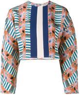 Tata-Naka Tata Naka - printed cropped blouse - women - Silk - 8
