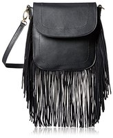 Urban Originals Women's Blow with The Wind Cross-Body Bag with Removable Strap, Black