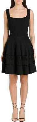 Alexander McQueen Stretch Knit Dress