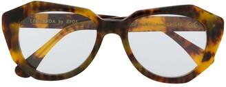Epos Tortoise Shell Chunky Glasses
