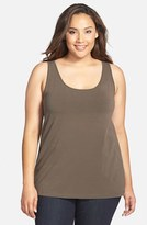Nic+Zoe Plus Size Women's 'Modern Perfect' Knit Tank